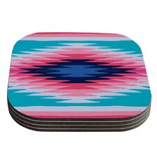 Surf Lovin II by Nika Martinez Coaster (Set of 4)