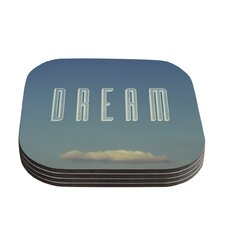 Dream Print by Galaxy Eyes Coaster (Set of 4)