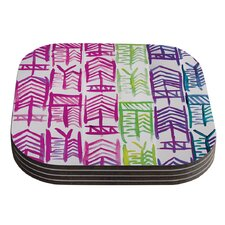 Quiver III by Theresa Giolzetti Coaster (Set of 4)