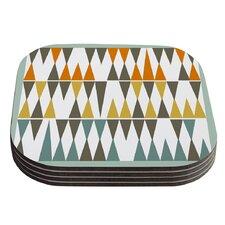 Diamond Kilim by Pellerina Design Coaster (Set of 4)