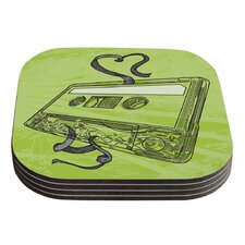 Mixtape by Sam Posnick Coaster (Set of 4)