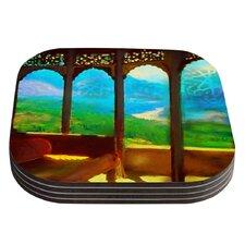 Mountain Retreat by S. Seema Z Coaster (Set of 4)