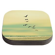 Across The Endless Sea by Robin Dickinson Coaster (Set of 4)