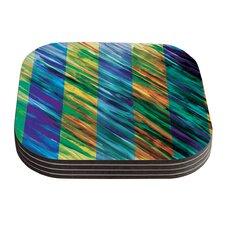 Set Stripes II by Theresa Giolzetti Coaster (Set of 4)