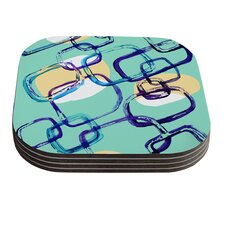 Sixties Exposure by Theresa Giolzetti Coaster (Set of 4)
