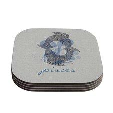 Pisces by Belinda Gillies Coaster (Set of 4)