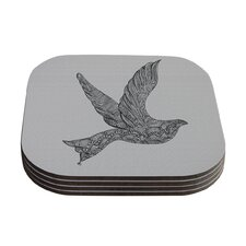 Dove by Belinda Gillies Coaster (Set of 4)