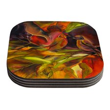 Mirrored in Nature by Kristin Humphrey Coaster (Set of 4)