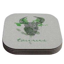 Taurus by Belinda Gillies Coaster (Set of 4)