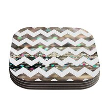 After Party Chevron by Beth Engel Coaster (Set of 4)