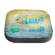 Explore the Stars by Nick Atkinson Coaster (Set of 4)