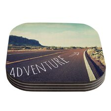Adventure by Sylvia Cook Coaster (Set of 4)