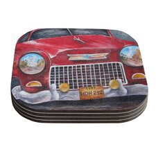Vintage in Cuba by Rosie Coaster (Set of 4)