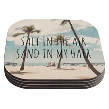 Salt In the Air by Nastasia Cook Coaster (Set of 4)