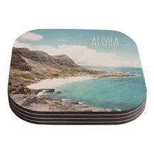 Aloha by Nastasia Cook Coaster (Set of 4)