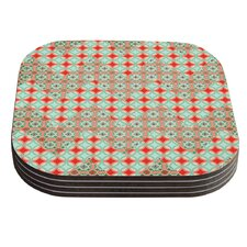 Traveling Caravan by Catherine McDonald Coaster (Set of 4)