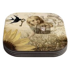 Key by Suzanne Carter Coaster (Set of 4)