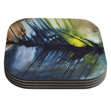 Gravity Falling by Steve Dix Coaster (Set of 4)