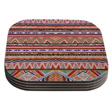 Native Tessellation by Vasare Nar Coaster (Set of 4)