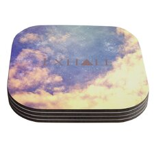 Exhale by Rachel Burbee Coaster (Set of 4)