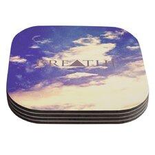 Breathe by Rachel Burbee Coaster (Set of 4)