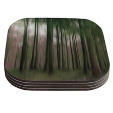 Forest Blur by Alison Coxon Coaster (Set of 4)