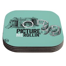 Picture Me Rollin Coaster (Set of 4)