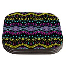 Tribal Dominance by Pom Graphic Design Coaster (Set of 4)