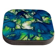 Leaves by Alison Coxon Coaster (Set of 4)