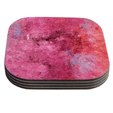 Cotton Candy by CarolLynn Tice Coaster (Set of 4)