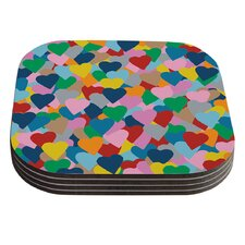 More Hearts by Project M Coaster (Set of 4)