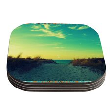 Walk With Love by Robin Dickinson Coaster (Set of 4)