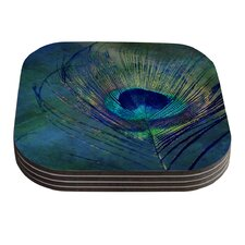 Plume by Robin Dickinson Coaster (Set of 4)