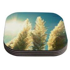Ornamental Grass by Robin Dickinson Coaster (Set of 4)