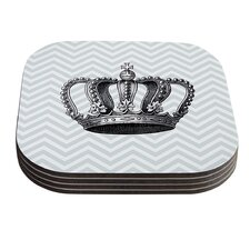 Crown by Suzanne Carter Coaster (Set of 4)