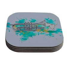 Hunting For Jazz by Kira Crees Coaster (Set of 4)