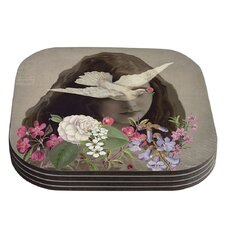Doves Eyes by Suzanne Carter Coaster (Set of 4)
