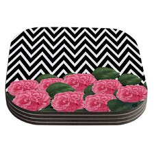 Camellia by Suzanne Carter Coaster (Set of 4)