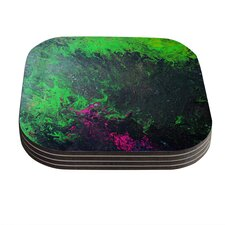 Acid Rain by Claire Day Coaster (Set of 4)