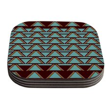 Deco Angles by Nina May Coaster (Set of 4)