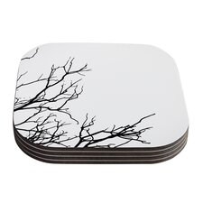 Winter by Skye Zambrana Coaster (Set of 4)