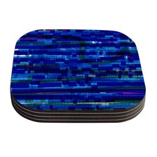 Squares Traffic by Frederic Levy-Hadida Coaster (Set of 4)