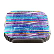 Fancy Stripes by Frederic Levy-Hadida Coaster (Set of 4)
