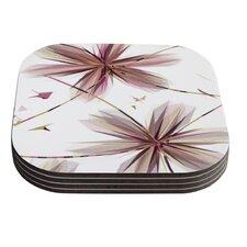 Flower by Alison Coxon Coaster (Set of 4)