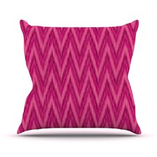 Chevron by Amanda Lane Throw Pillow