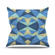 The Blues by Empire Ruhl Throw Pillow