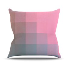 Girly Pixel Surface by Danny Ivan Throw Pillow