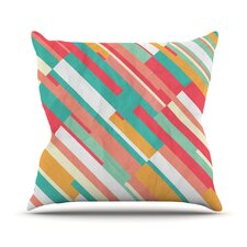 Droplines Outdoor Throw Pillow