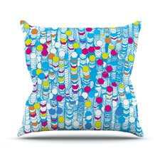 Color Hiving Outdoor Throw Pillow