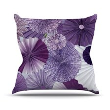 Lavender Wishes by Heidi Jennings Throw Pillow